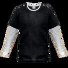 Brīvi krītošs t-krekls ar dubultām kontrastkrāsas piedurknēm /STANDART/ Cena konstruktorā - 9.95 € + apdruka