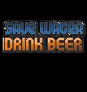 сэкономи воду пей пиво (англ)