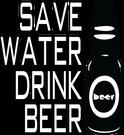 Sargā ūdeni dzer alu