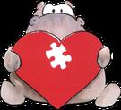 hippopotamus heart