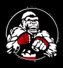 Boxing gym gorilla